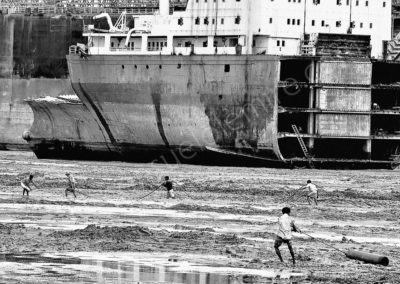 Ship breaking yard Chittagong - Bangladesh 2008