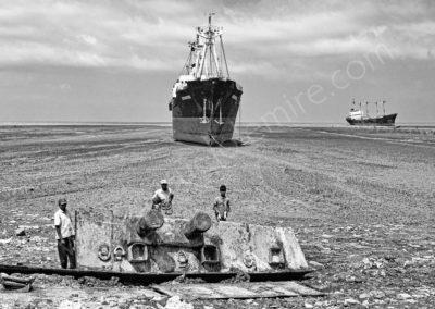Ship breaking yard Chittagong - Bangladesh 2008
