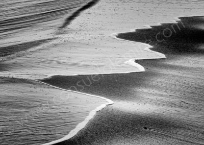 Vague mourant sur la plage - La Marsa- Tunis 2006