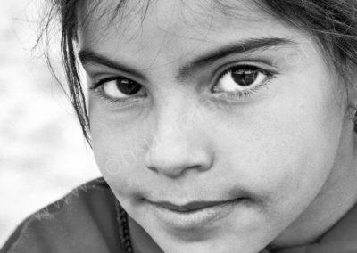 Jeune fille à Palmyre - Syrie 2006