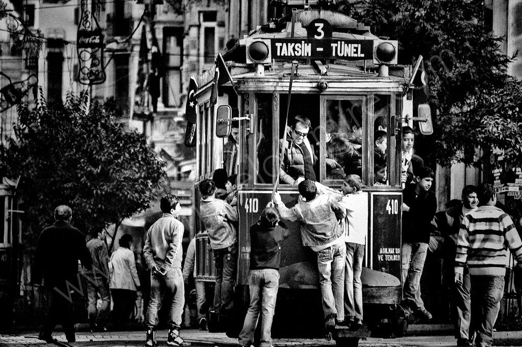 Istiklal, Istanbul, Turquía 2005